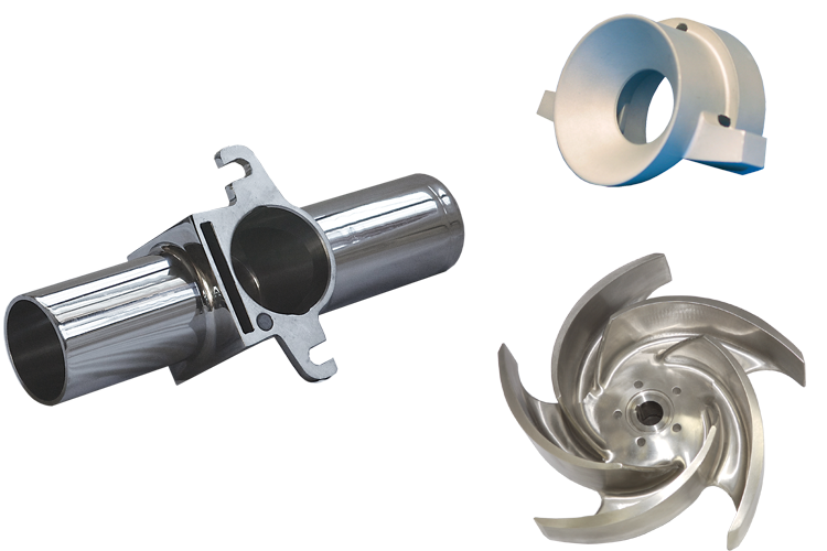 Examples of metal parts